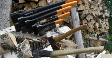 Топор колун – нарубит дров целую поленницу