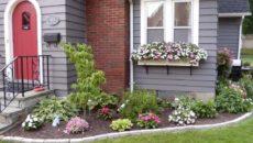 Палисадник перед домом или как красиво оформить крыльцо?