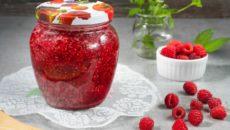 Малина с сахаром на зиму – лечебные закрутки без варки