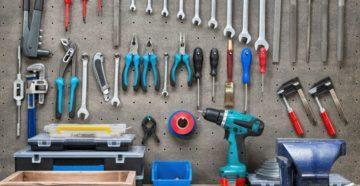 Инструмент для домашней мастерской – что всегда должно быть под рукой?