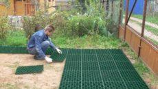Садовые дорожки из пластика – комфорт обеспечен!