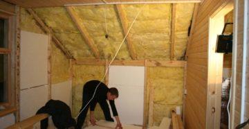 Утепление дачного дома изнутри: какой выбрать материал?