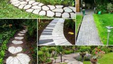 Как создать красивые и уникальные садовые дорожки своими руками?
