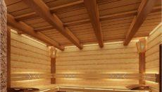 Как сделать потолок в бане – что для этого нужно