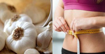 В чем польза чеснока для похудения