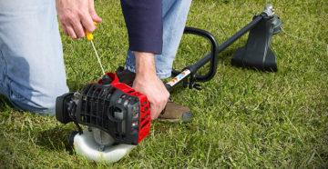 Бензиновая мотокоса – критерии правильного выбора садового инструмента