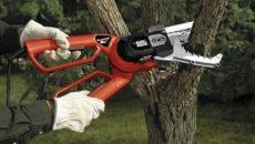 Электрический сучкорез – ухаживаем за кронами с земли и без усилий
