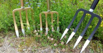 Вилы для копки земли – альтернативный инструмент для работ в саду и огороде
