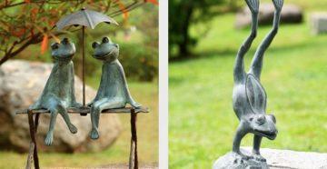 Садовые скульптуры своими руками – фантазируем по полной!